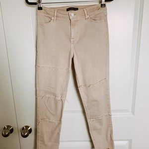 Blush Pants Abercrombie & Fitch